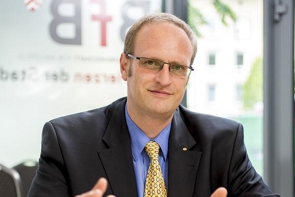 Dietmar Krämer im Gespräch mit Michael Schläger vom Westfalen-Blatt