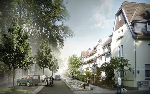 Offenlegung der Lutter in der Ravensberger Straße